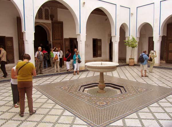 Bahia-Palast mit unzähligen Patios