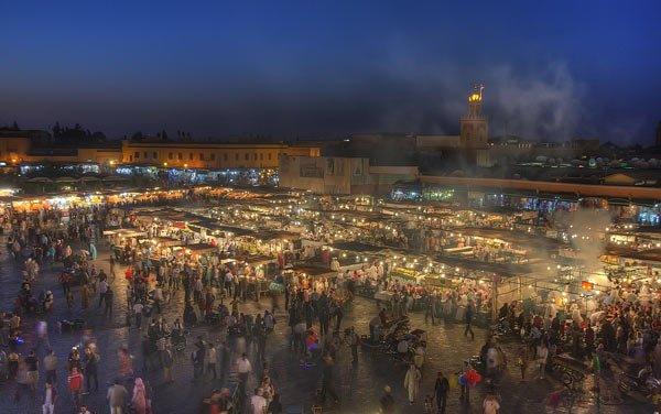 Djemaa el Fna in Marrakesch