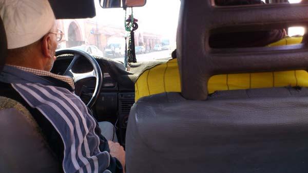 Taxi Marrakesch, Marokko