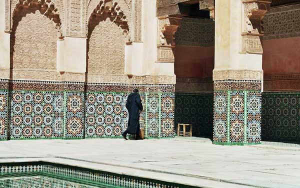 Medersa Ali Ben Youssef in Marrakesch