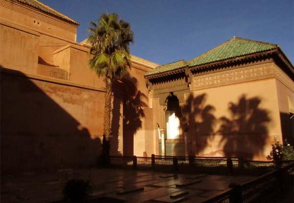 Foto aus den Saadier-Gräbern in Marrakesch