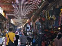 Souks in Marrakesch (Marokko)