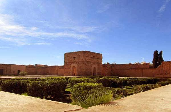 El Badi Palast in Marrakesch