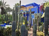 Le Jardin Majorelle in Marrakesch