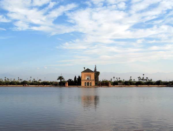 Die Menara-Gärten in Marrakesch