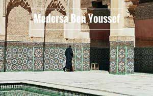 Medersa Ben Youssef in der Medina von Marrakesch