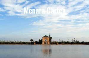 Parks in Marrakesch: Menara Garten