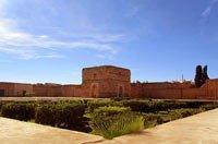 palast el-badi in marrakesch