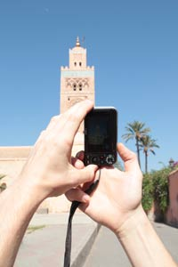 Fotografieren in Marrakesch