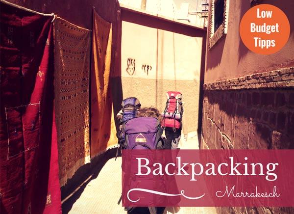 Low Budget Tipps für Marrakesch