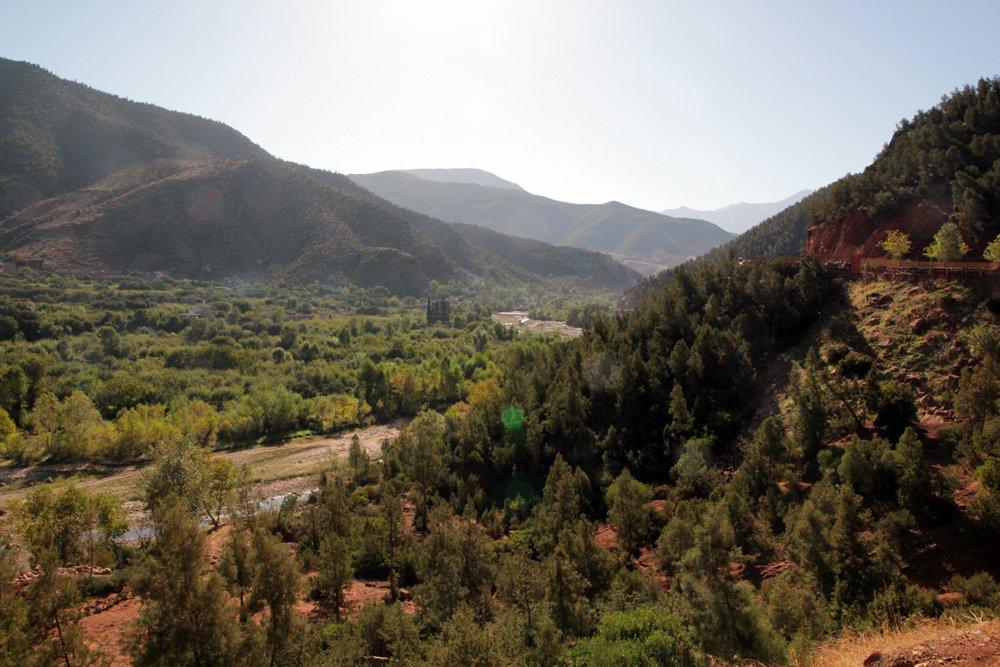 Ausflug ins Ourika-Tal in Marokko