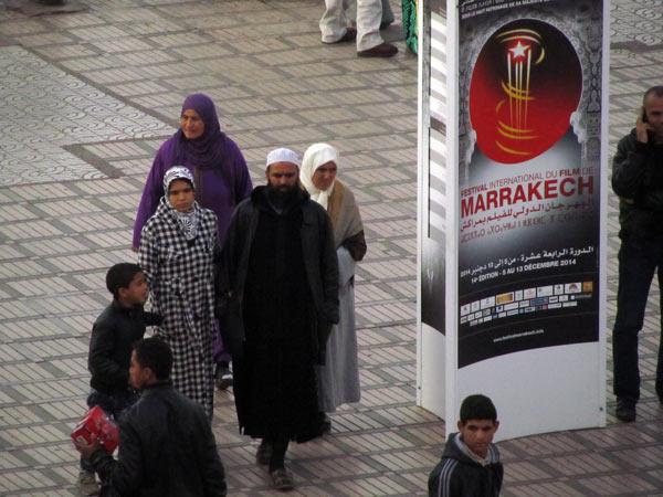 Marrakesch Filmfestival 2014, Werbung