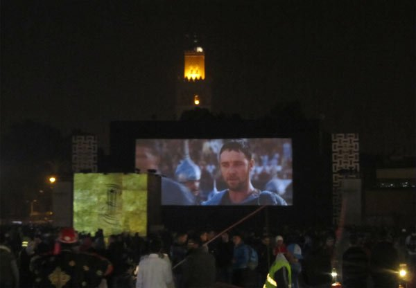 Marrakesch Filmfestival Public Screening