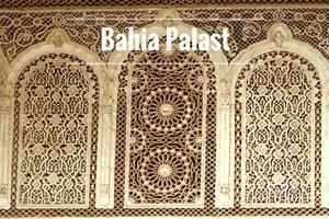 Bahia Palast Marrakesch