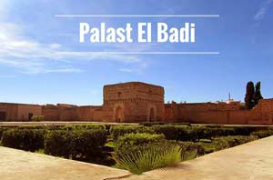 Palast El Badi Marrakesch