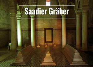 Saadier-Gräber Marrakesch
