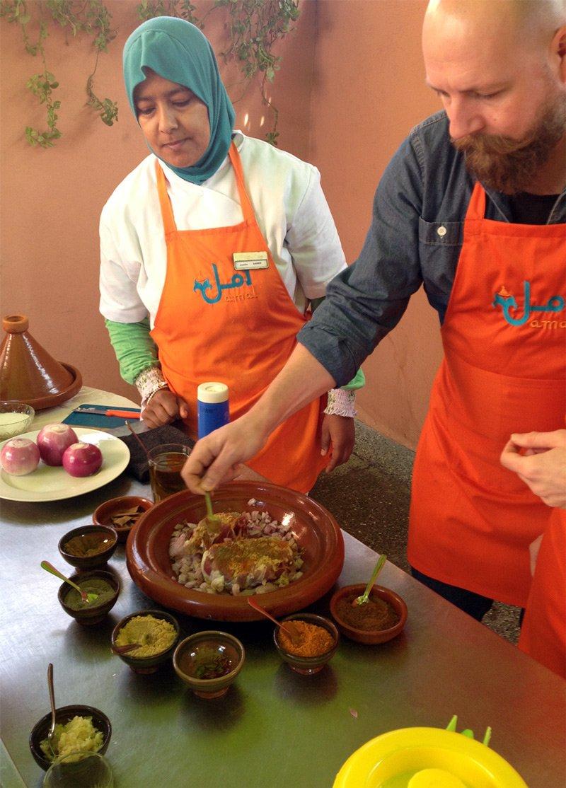 Restaurants In Marrakesch Amal Womens Training Center
