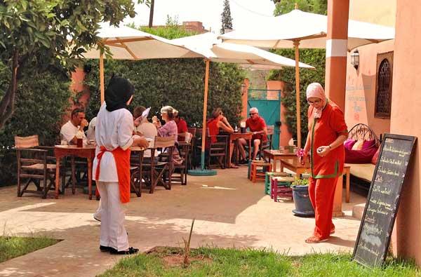 restaurant amal women training marrakesch