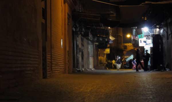 gasse marrakesch