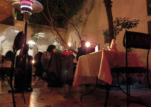 restaurant jama marrakech