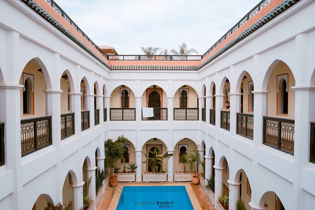 Hostel in Marrakesch: Equity Point