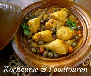 Kochkurse und Foodtouren in Marrakesch
