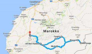 Route der Wüstensafari