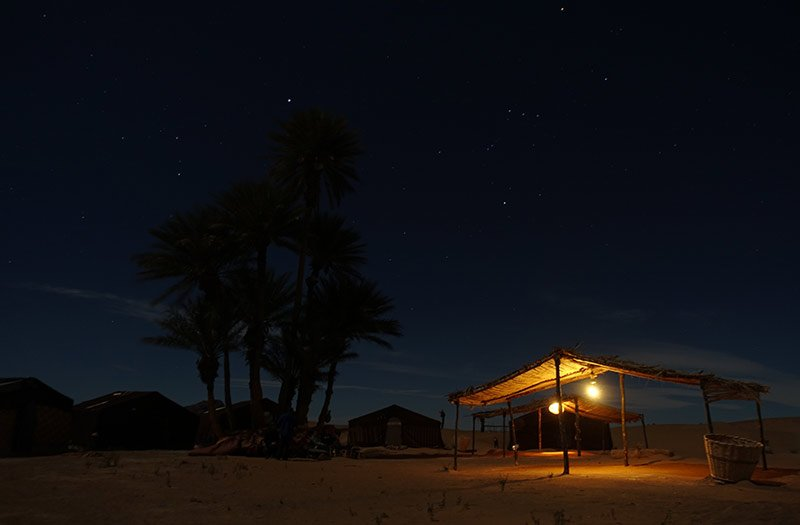 Wüstencamp Merzouga, marokko