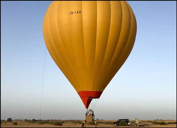 Heißluftballon Marrakesch