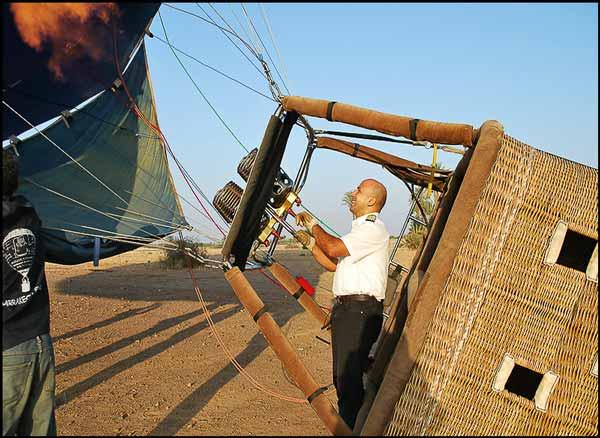 Aktivität: Mit dem Heißluftballon über Marrakesch