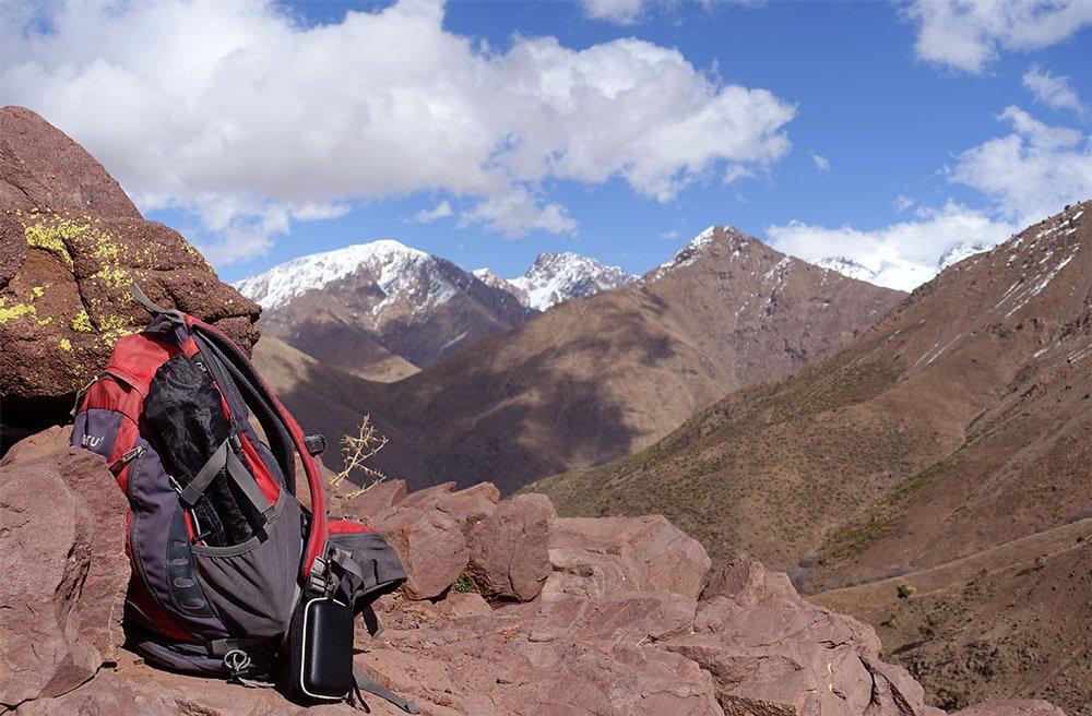 Wandern im Atlasgebirge - Ausrüstung