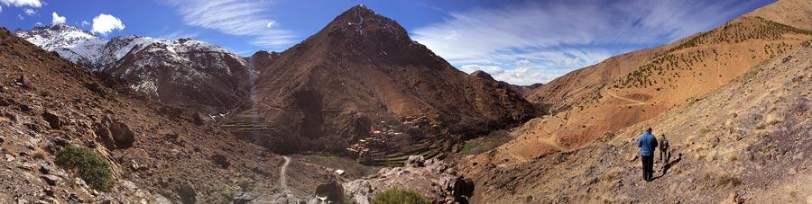 Trekkingtour im Atlasgebirge