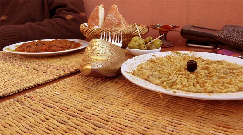 Veganes Essen in Marrakesch