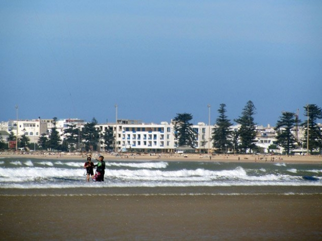 Kiten und Windsurfen in Essaouira