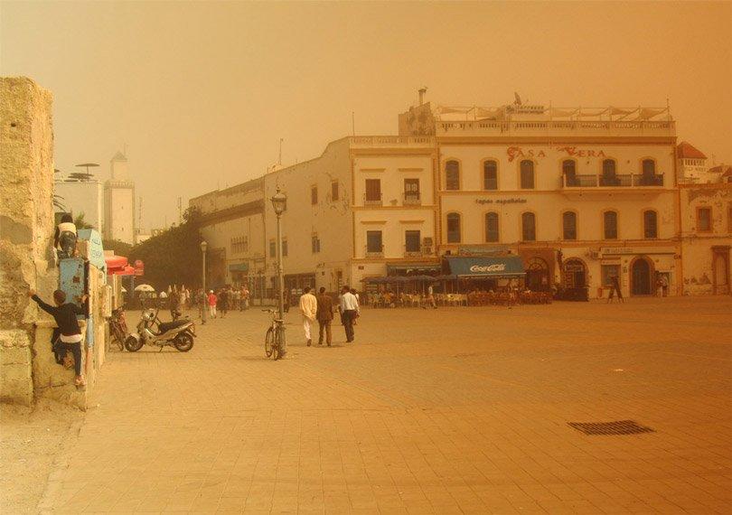 Hassan-Platz, Essaouira, Marokko