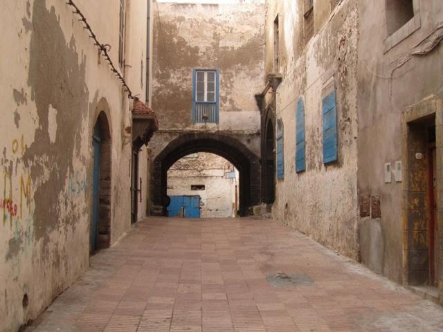 Gassen in Essaouira, Marokko