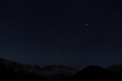 Sternenhimmel Atlasgebirge