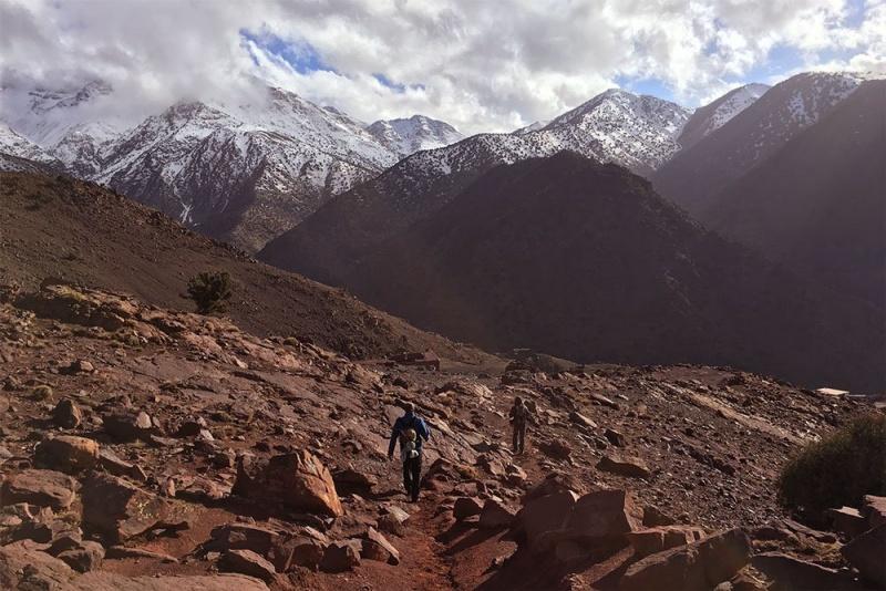 Wandern im Atlasgebirge