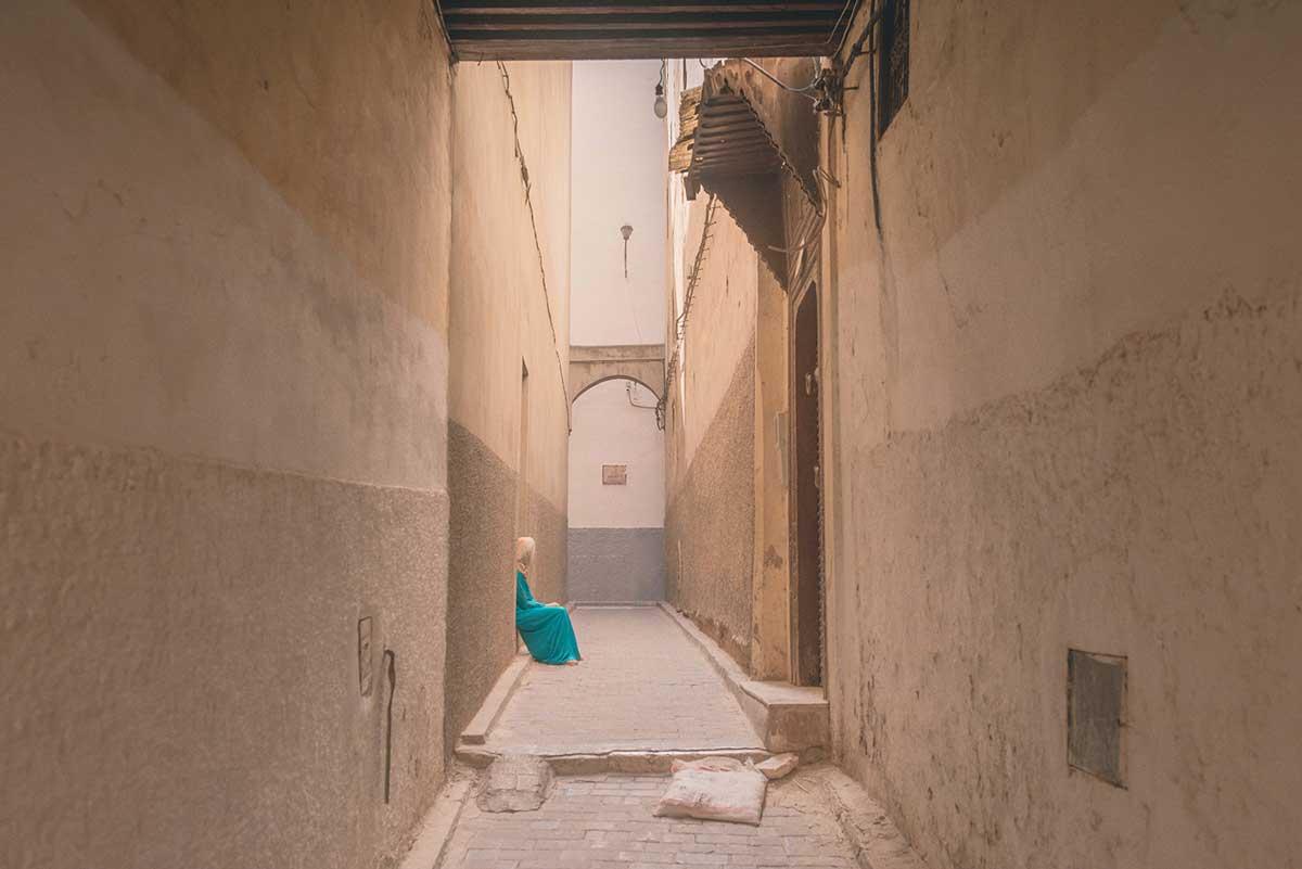Sackgasse Betrug Marrakesch