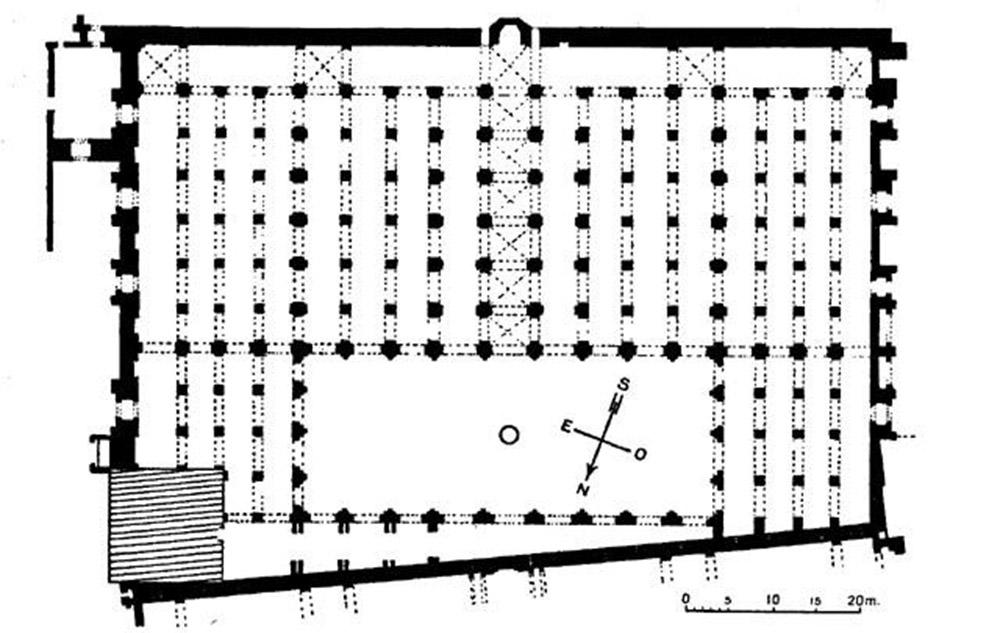 Koutoubia Moschee Marrakesch Plan