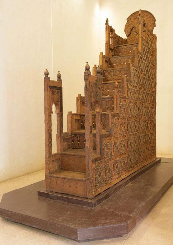 Minbar aus der Koutoubia Moschee in Marrakesch