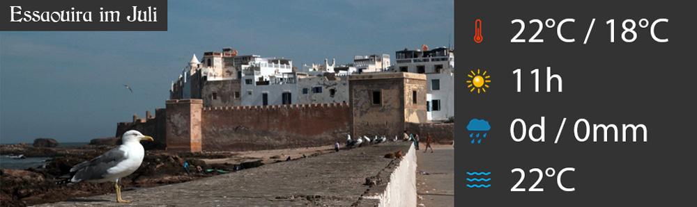 Essaouira im Juli