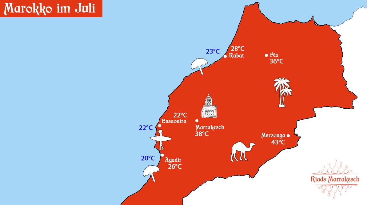 Marokko im Juli