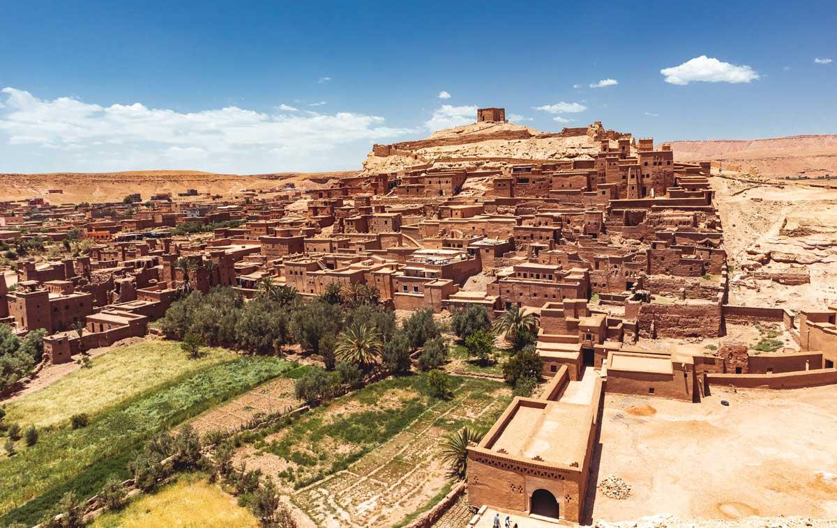 Ait Benhaddou Marokko