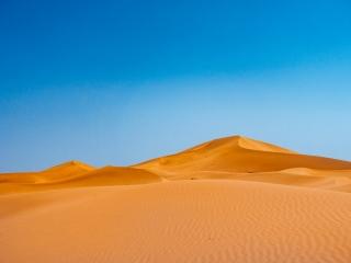 Das Dünengebiet Erg Chegaga in Marokko