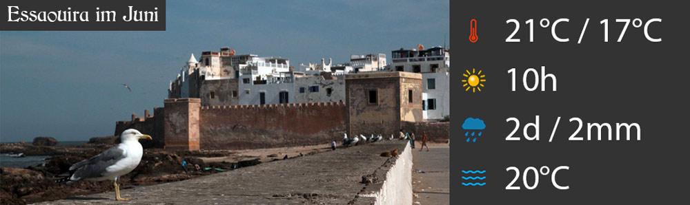Essaouira im Juni