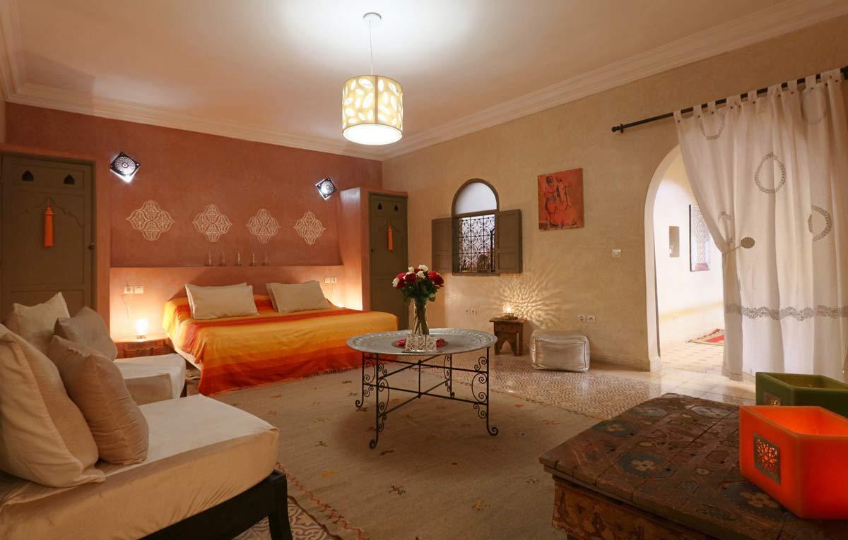 Familienzimmer im Riad Beldi in Marrakesch