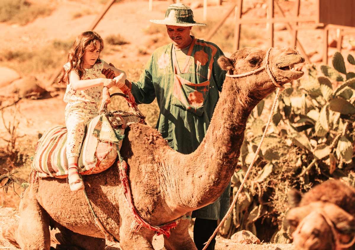 Kamelreiten in Marrakesch