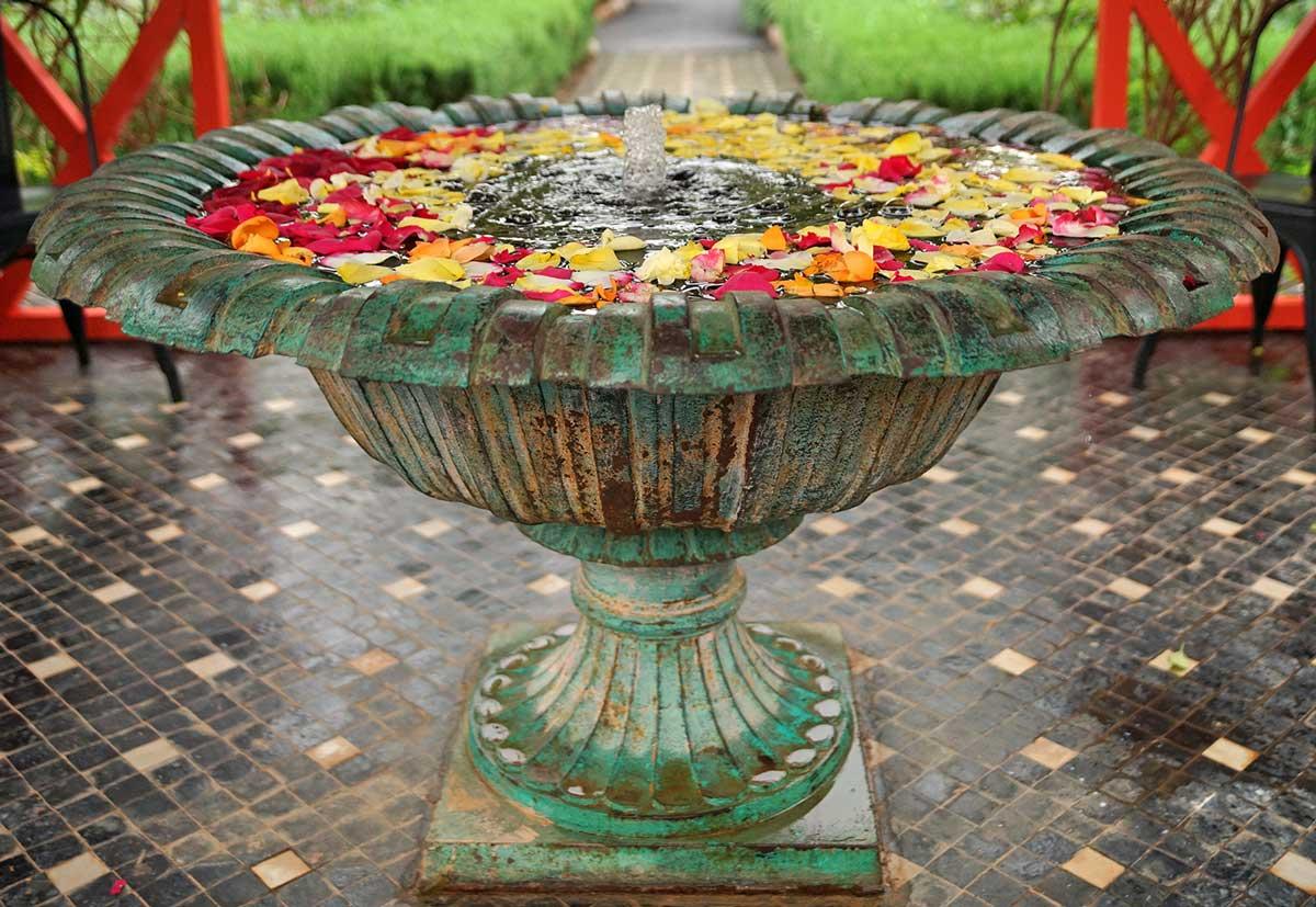 Marrakesch Anima Garten Brunnen
