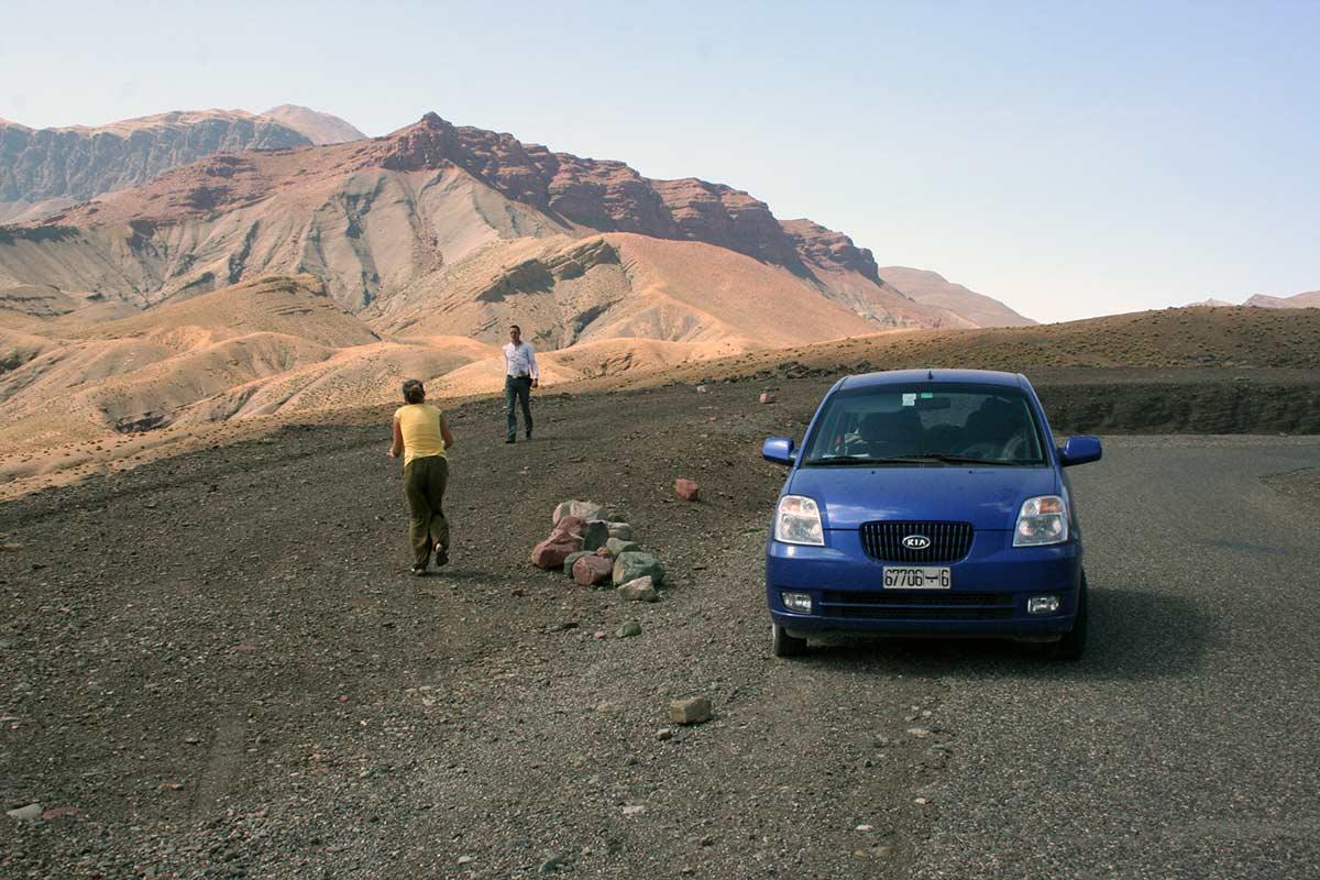 Mit dem Mietwagen in Marokko über das Atlasgebirge